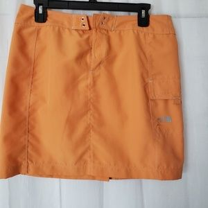 The North Face Orange Mini Skirt Size 6